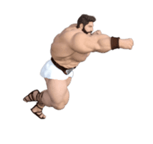 HERCULES The Ultimate Muscle Man 3D sticker #12992349