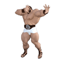 HERCULES The Ultimate Muscle Man 3D sticker #12992354