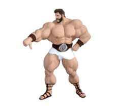HERCULES The Ultimate Muscle Man 3D sticker #12992356