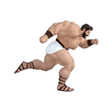 HERCULES The Ultimate Muscle Man 3D sticker #12992357