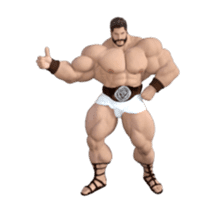 HERCULES The Ultimate Muscle Man 3D sticker #12992360