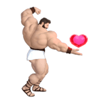HERCULES The Ultimate Muscle Man 3D sticker #12992362
