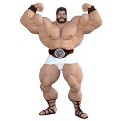 HERCULES The Ultimate Muscle Man 3D