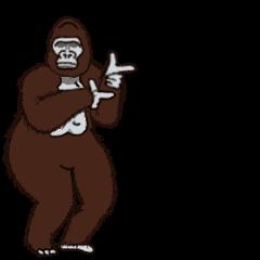 Dancing Gorilla