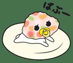 Gyoza Dumpling sticker #13000242