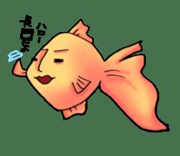 NAGATO goldfish!! sticker #13005374