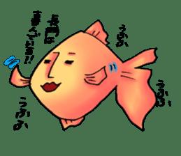 NAGATO goldfish!! sticker #13005383