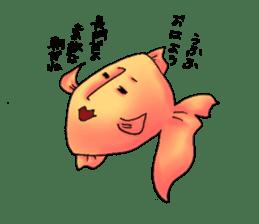 NAGATO goldfish!! sticker #13005393