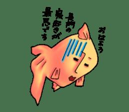 NAGATO goldfish!! sticker #13005394