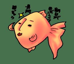 NAGATO goldfish!! sticker #13005395