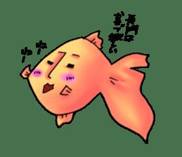 NAGATO goldfish!! sticker #13005398
