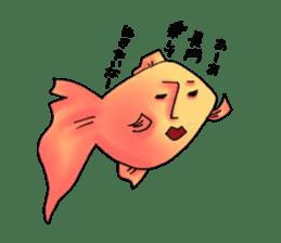 NAGATO goldfish!! sticker #13005399