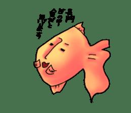 NAGATO goldfish!! sticker #13005400