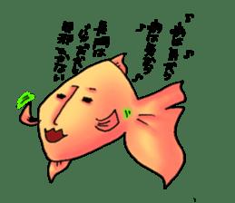 NAGATO goldfish!! sticker #13005403