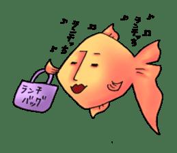 NAGATO goldfish!! sticker #13005409