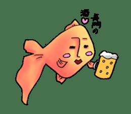 NAGATO goldfish!! sticker #13005410