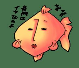 NAGATO goldfish!! sticker #13005412