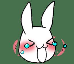 Fun Fun rabbit sticker #13008845