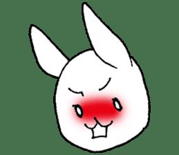 Fun Fun rabbit sticker #13008850