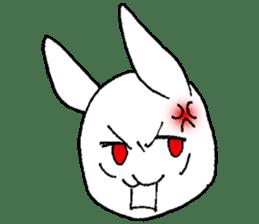 Fun Fun rabbit sticker #13008851