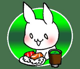 Fun Fun rabbit sticker #13008869
