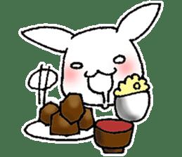 Fun Fun rabbit sticker #13008872
