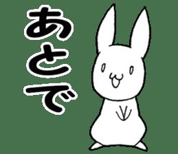 Fun Fun rabbit sticker #13008877