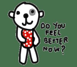 Polka Bear 2 sticker #13014791