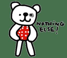 Polka Bear 2 sticker #13014795