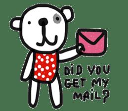 Polka Bear 2 sticker #13014798