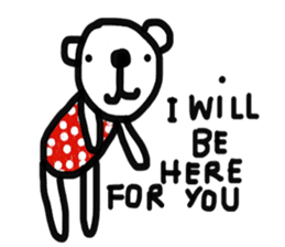 Polka Bear 2 sticker #13014806