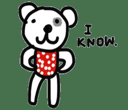 Polka Bear 2 sticker #13014807