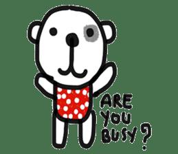 Polka Bear 2 sticker #13014811