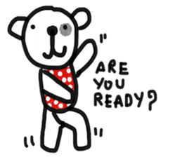 Polka Bear 2 sticker #13014812