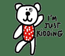 Polka Bear 2 sticker #13014814