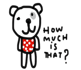 Polka Bear 2 sticker #13014815