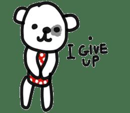 Polka Bear 2 sticker #13014816