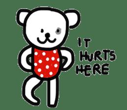 Polka Bear 2 sticker #13014818