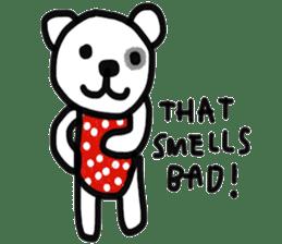 Polka Bear 2 sticker #13014819