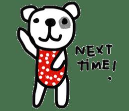 Polka Bear 2 sticker #13014820