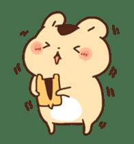 animation Idle geek hamster sticker #13015904