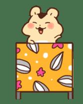 animation Idle geek hamster sticker #13015910