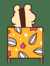 animation Idle geek hamster sticker #13015911