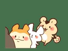 animation Idle geek hamster sticker #13015917