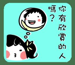 talking about sticker #13021547