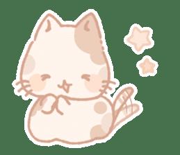Calico cat Shiratama chan sticker #13029903