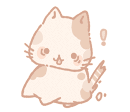 Calico cat Shiratama chan sticker #13029904