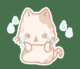Calico cat Shiratama chan sticker #13029907