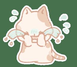 Calico cat Shiratama chan sticker #13029908