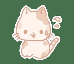Calico cat Shiratama chan sticker #13029909